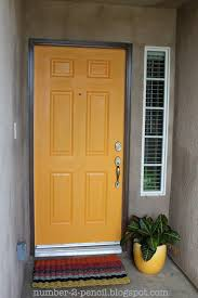 painting an exterior door home design