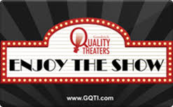 theater gift cards sell goodrich quality theaters in theater only gift cards raise