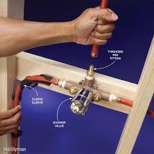 plumbing with pex tubing family handyman
