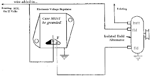 chevy one wire alternator diagram size of one wire