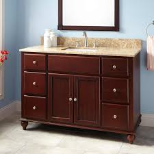 Mahogany Wood Bathroom Vanity Signature Hardware