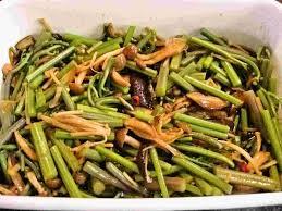 vdi cuisine recipes for tom warabi to kinoko no amakara shoyuzuke bracken