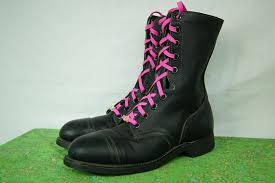 womens black combat boots size 9 black combat boots biltrite steel toe boots high top boot