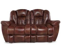 Lay Z Boy Furniture La Z Boy Maverick Mahogany Leather Reclining Loveseat 1714 I Bet