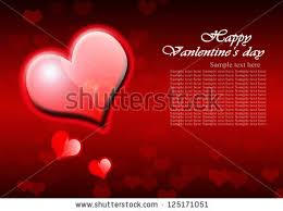 happy valentines day letter defocused lights stock vector 68364643