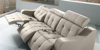 canapé relax 3 places cuir canap relax lectrique 3 places cuir vyctoire achat vente intéressant