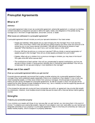 30 prenuptial agreement samples u0026 forms template lab
