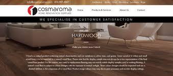 hardwood flooring at cosmaroma serving kitchener cambridge