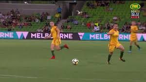 Sensational Videos Stunning Save From Keeper Campbell On Debut Matildas