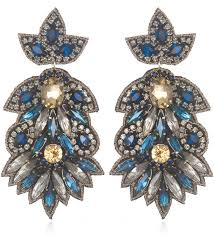 suzanna dai earrings suzanna dai navy borghese large drop earrings where to buy how