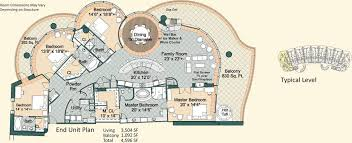 four bedroom floor plans condo floor plans turquoise place orange condo rentals