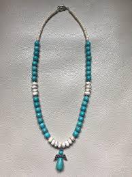 turquoise gem necklace images Turquoise stone angel necklace gemstone jewelry illinois jpg
