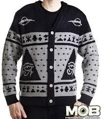 forget ugly christmas sweaters it u0027s creepy halloween sweater