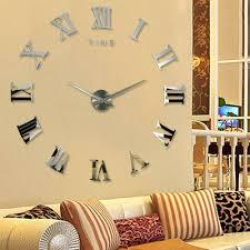 14 wall clock aliexpresscom buy home decoration metallic feeling