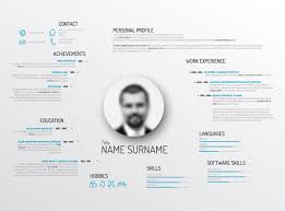 creative resume template design vectors 03 vector business free