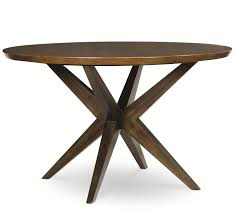 round table number of seats kateri round table with pedestal bottom in hazelnut finish by legacy