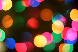 lights rainbow colors makeup and