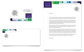 Business Card And Letterhead Business Leadership Conference Business Card U0026 Letterhead Template