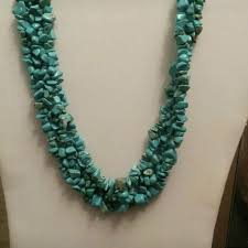 turquoise gem necklace images Best genuine turquoise stone necklace for sale in richmond hill jpg