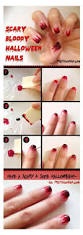 simple easy scary halloween nail art tutorials 2012 for beginners