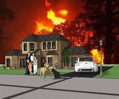 Wildfire Explosion Gif by Wild Fire Preparedness
