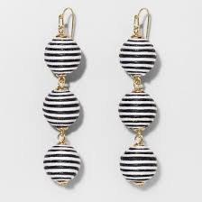 earring drop sugarfix by baublebar triad drop earring target