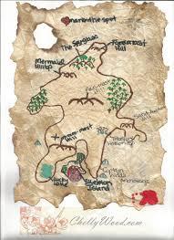 student made map of treasure island the english emporium
