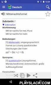 android meaning german dictionary offline android app playslack the free