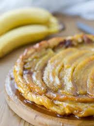 t駘駑atin recettes de cuisine tarte tatin à la banane flambée recette jus de citron pâte