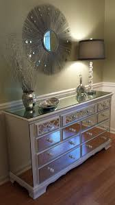 brilliant white mirrored chest standard furniture marilyn youth 6