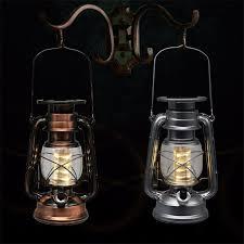 2018 led porching lighting solar lantern vintage solar power led