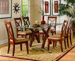 Tile Top Dining Tables Dining Room Cool Ideas Of Glass Top Dining Table Kropyok Home