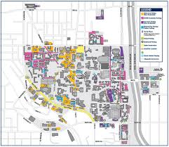 Gsu Campus Map Map Of Georgia Tech Campus Georgia Map