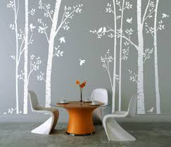 white tree wall stickers custom wall stickers white wall decal