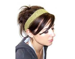 knitted headband pattern hair raising headband pattern knit lion brand yarn