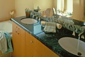 Bathroom Cabinets With Sink Custom Bathroom Cabinets Curved Face Sinks Two Level Vessel Sinks