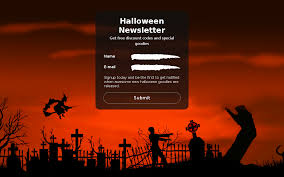 halloween themed keyboard background halloween newsletter form theme store