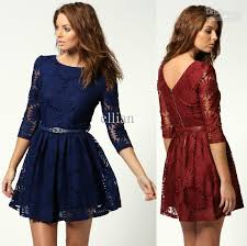 discount price fashion lace sunflower women party dress with