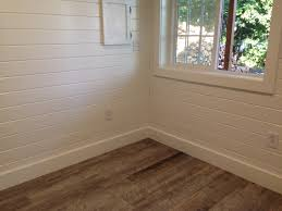ceramic tile plank floors painted white pine tongue and groove