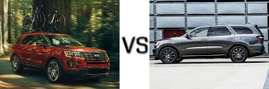 ford explorer vs chevy tahoe compare fords