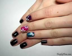 deeply diva nail art super facile per negate