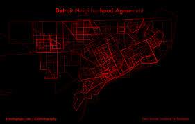 Loveland Zip Code Map by Detroit Neighborhood Agreement Map Detroitography