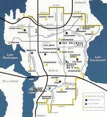 seattle map by district is newcastle part of bellevue school district kent renton map