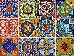 Mexican Tile Backsplash Kitchen by Amazon Com Bleucoin Mexican Tile Stickers 12 Designs Peel