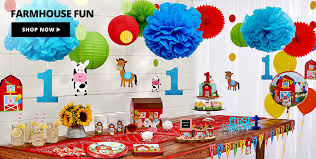 1st birthday decorations for girls u0026 boys party city