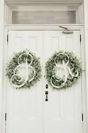 wedding wreaths 42 adorable wedding wreaths for any nuptials happywedd