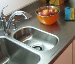 stainless steel countertop with built in sink custom stainless steel countertops frigo design