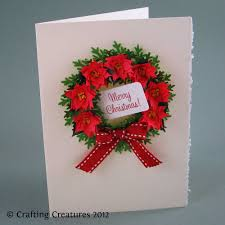 christmas quilling cards christmas lights decoration