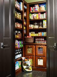 Modern Kitchen Pantry Designs - spacious walk in kitchen pantry design