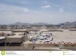 Phoenix Sky Harbor Terminal 4 Map by American Airlines In Phx Az Editorial Image Image 58279570